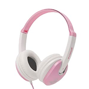 Groov-e GV590PW Kids DJ Style Headphone - Pink