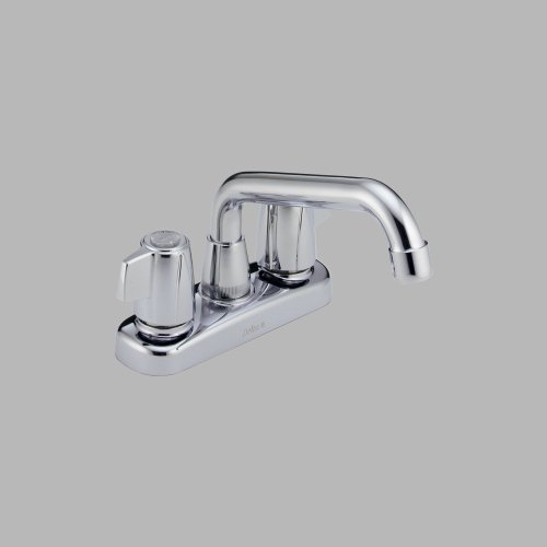 Delta 2123 Two Handle Laundry Faucet, Chrome