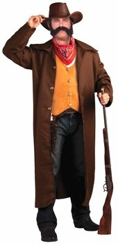 Wild West Gunfighter Plus Size Costume (Size: Plus 48)