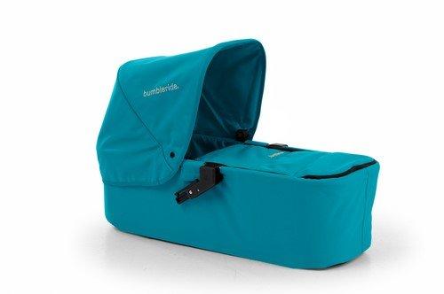 Bumbleride Indie Twin Carrycot, Aquamarine