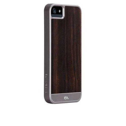 Case-Mate 日本正規品 iPhone5 Artistry Woods Case, Rosewood?アーティストリーウッズ ケース, ローズウッド【天然木素材+アルミニウム素材+強化プラスティックフレーム素材のハイブリッドケース】 CM022434