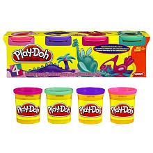 Play-doh Your Choice Colors - 4 Pack - 1