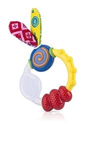 Nuby Wacky Teething Ring by Nuby