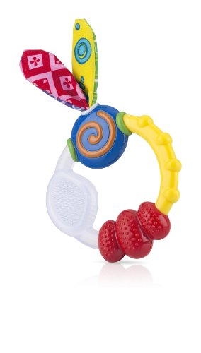 Details for Nuby Wacky Teething Ring by Nuby