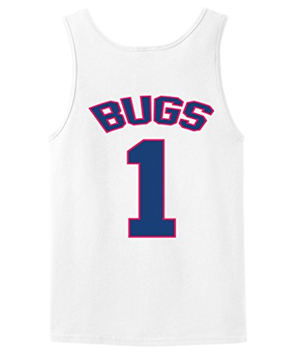 [Bugs Bunny Tune Squad Space Jam Tank Top jersey ADULT LARGE] (Monstars Space Jam Costumes)