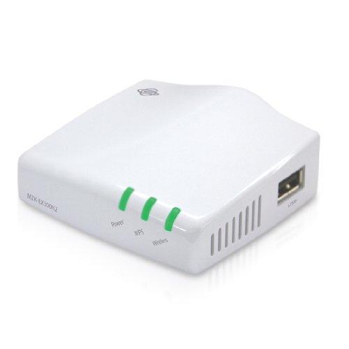 PLANEX 無線LANエリアをかんたんに拡大 300Mbpsハイパワー無線LAN中継機 MZK-EX300N2