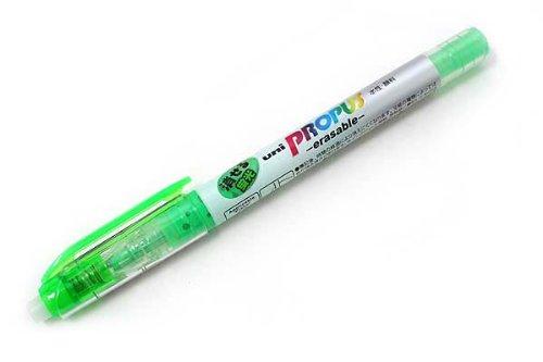 Uni High Lighter Erasable, Green (PUS151ER.6)