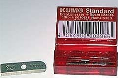 Spare Blades for KUM Automatic Stop 2-Step Long Point Sharpeners, 3 Blades.