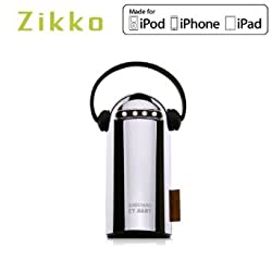 Zikko ET baby 8400mah Usb Port Portable Charger Power Bank for Smartphones and Tablets,Such as iPhone or Samsung (Silver)