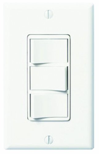 Panasonic FV-WCSW31-W WhisperControl Three-Function On/Off Switch, White