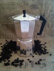 HDS Kitchen EM00209 12c Stovetop-Tabletop-Espresso Maker