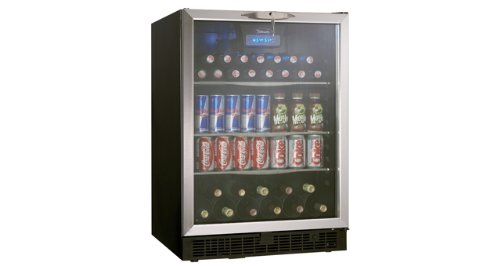 Danby DBC514BLS 5.3 Cu. Ft. Silhouette Beverage Center - Black/Stainless