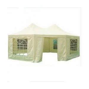 Quictent 6.8x5 Meter Beige Octangle Festival Gazebo Party Tent Wedding Marquee