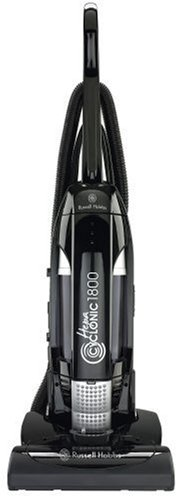 Russell Hobbs 13943 1800 W Upright Bagless Vacuum Cleaner in Black with 2.5 L capacity and HEPA Filtration