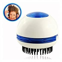 Head Electric Scalp Vibrating Massager Comb Stress Pain Relief Relax Massage Brush