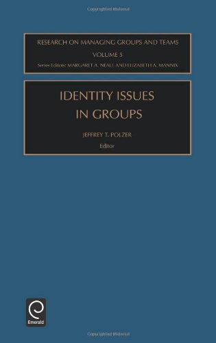 Identity Issues in Groups (Research on Managing Groups and Teams, Volume 5)