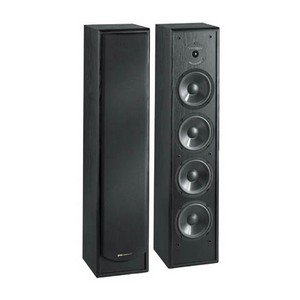 BIC America Venturi DV84 2-Way Tower Speaker, Black (Single)