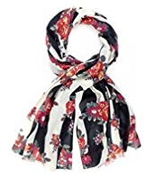 Limited Edition Lightweight Floral Scarf