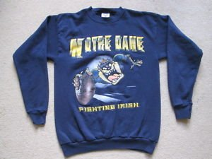 Notre Dame Fightin Irish NCAA American Football Sweatshirt Jumper - Mens Large