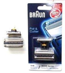 Braun 8000 Series 5 Contourpro 360° Complete 51S Scherfolie / Köpfe Pack S18