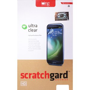 Scratchgard Clear Screen Protector For Samsung Galaxy R i9103