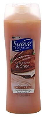 Suave Naturals Body Wash 12oz Cocoa Butter & Shea