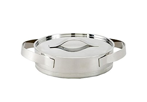 KnIndustrie Inossidabile - Low Casserole Ø9.4 Brushed Steel