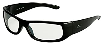 3M Moon Dawg Protective Eyewear, 11216-00000-20 I/O Mirror Lens, Black Frame  (Pack of 1)