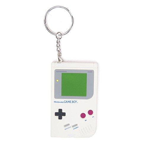 Bioworld - Nintendo Portachiavi Di Gomma Game Boy 6 Cm