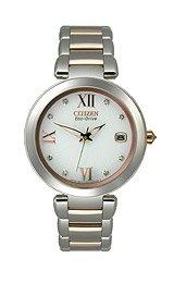 Citizen Women's EO1116-57A Marne Signature Eco-Drive Diamond Dial Watch