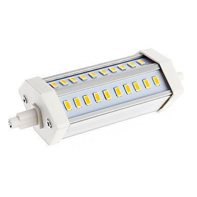 Dimmable R7S 10W 30Xsmd 5630 1500Lm 3000-3500K Warm White Light Led Corn Bulb(Ac 85-265V)