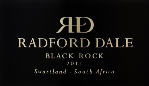 2011 Radford Dale Black Rock 750 Ml