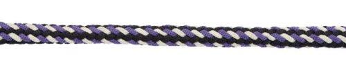 Führstrick Softra m.Panikhaken blau/flieder/weiß