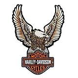 Harley-Davidson Upright Eagle Tin Sign. 99349-09V