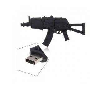 Euroge Tech 8GB USB Flash Drive Memory Stick Tommy Gun by Euroge Tech