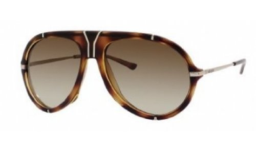 Yves Saint Laurent Yves Saint Laurent 2340/S Sunglasses-0P8O Havana (CC Brown Gradient Lens)-58mm