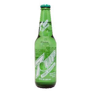 7-UP 12oz. Glass bottle 24ct.