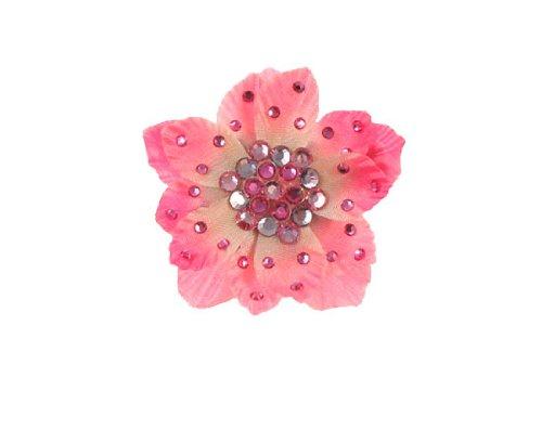 Tarina Tarantino Classic Anywhere Flower Clip - Lt. Pink