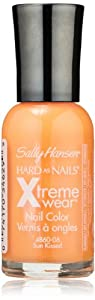 Sally Hansen Hard as Nails Xtreme Wear, Sun Kissed, 0.4 Fluid Ounce