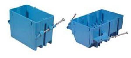 New Carlon B118a Single Gang Pvc New Work Electrical Box