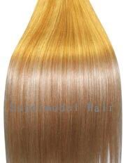 24 inch BLONDE MIX (Col 27/613). Full Head Clip in Human Hair Extensions. High quality Remy Hair!.
