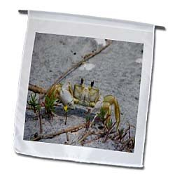 Ghost Crab - 12 X 18 Inch Garden Flag