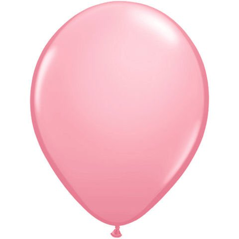 "16"" Pink Latex Balloons (10 ct)"