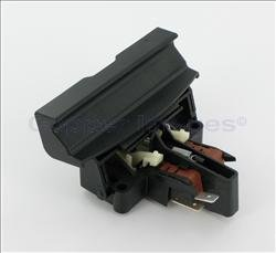 Frigidaire FRIGIDAIRE 154434103 DOOR LATCH ASSEMBLY WITH SWITCHES (BLACK)
