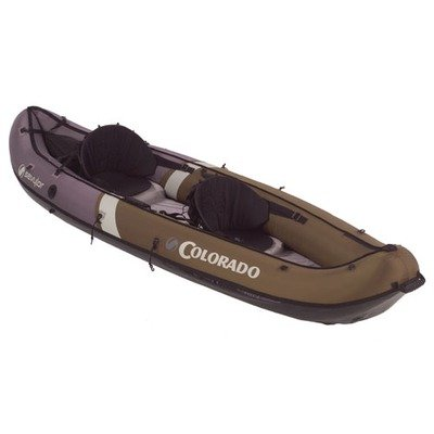 Sevylor Inflatable Colorado Hunting and Fishing Canoe, 2-Person