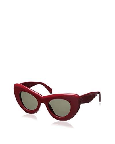 Celine Women's GXW70 Sunglasses, Red