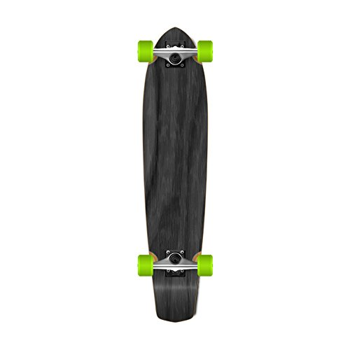 SlimKick tail Graphic Longboard Complete Skateboard Cruise Vintage Style 36