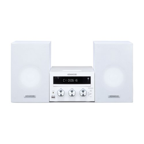 Kenwood M-616DV-W Compact Hi-Fi Micro System DVD / Apple Dock / USB 2.0 / White Black Friday & Cyber Monday 2014
