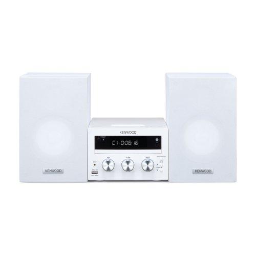 Kenwood M-616DV-W Compact Hi-Fi Micro System DVD / Apple Dock / USB 2.0 / White Black Friday & Cyber Monday 2014