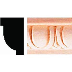 Decorative Egg And Dart Detail Moulding, 5/8X1
